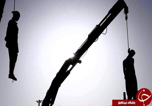 تصاویر اعدام مرد ژله ای