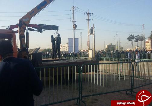 مرد ژلهای در شیراز اعدام شد + تصاویر و فیلم