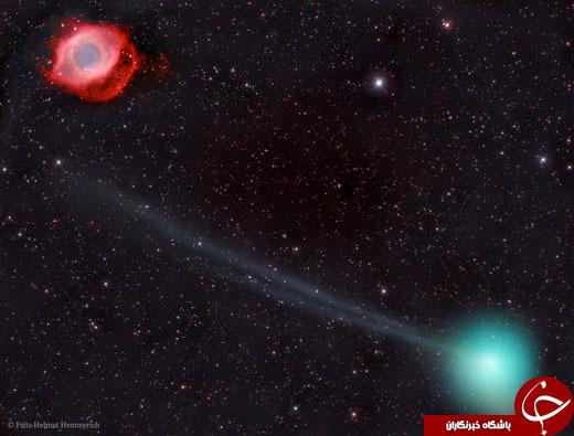 از خوشههای رنگی کهکشان لئو تا دقیقترین عکس از سطح سیاره پلوتون