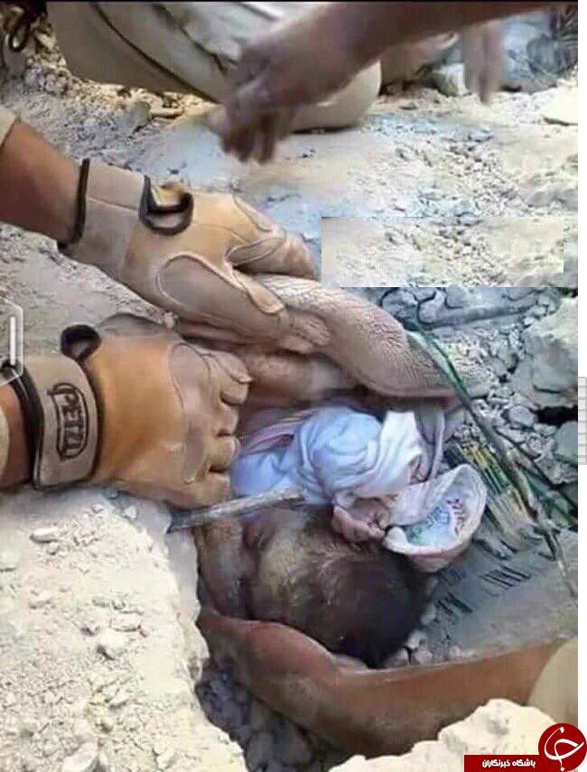 داعش به نوزاد 40 روزه هم رحم نکرد+تصویر