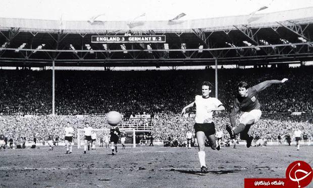 مزایده پیراهن خاطره انگیز انگلستان در جام جهانی 1966