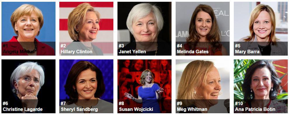 زنانی که بر جهان حکومت میکنند/قدرتمندترین رهبران سیاسی زن در سال 2016+تصویر
