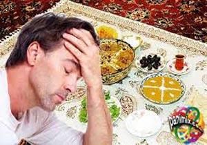 علت سردردهای ماه رمضان