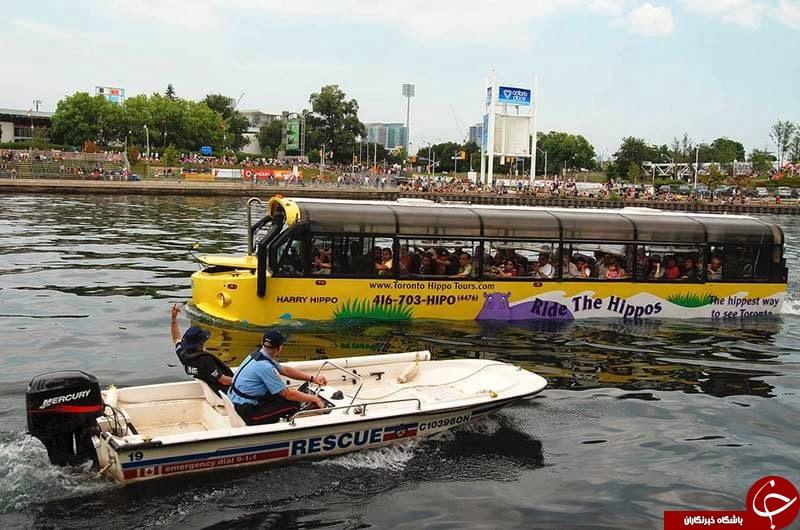 سفر روی آب را با این اتوبوس تجربه کنید+تصاویر