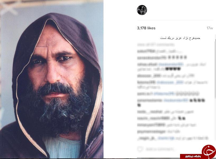 گریم های ماندنی فیلم های ایرانی در اینستاگرام عبدالله اسکندری+10 عکس
