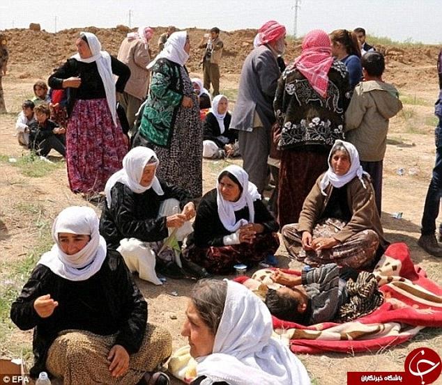 داعش 19 دختر ایزدی را زنده زنده در آتش سوزاند/