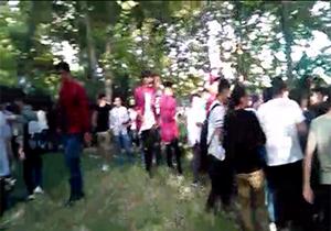 تجمع عدهای هنجارشکن در روز اول ماه مبارک رمضان در غرب تهران + فیلم
