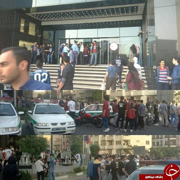 میتینگ دهه 70 و 80ها در پاساژ کورورش غرب تهران +تصاویر