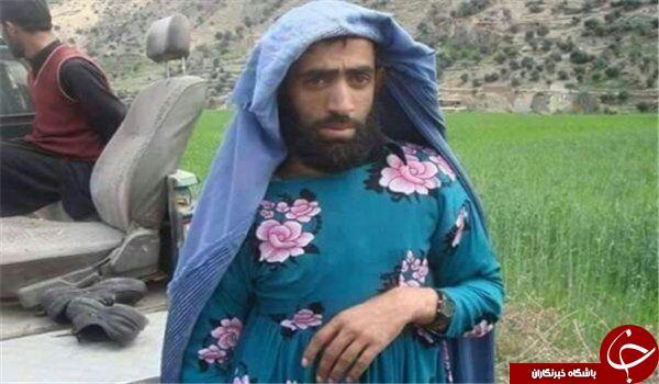 نیروهای داعشی در لباس زنانه + عکس