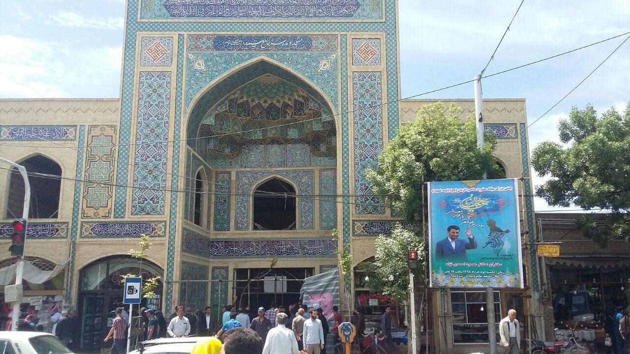 رفت و آمد در ساختمان ولنجک/امروز چه اتفاقی برای احمدی نژاد رخ خواهد داد؟