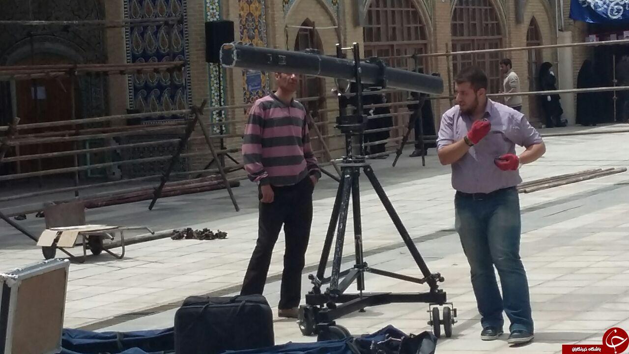 متن و حاشیه ورود احمدی نژاد به زنجان /تصاویر