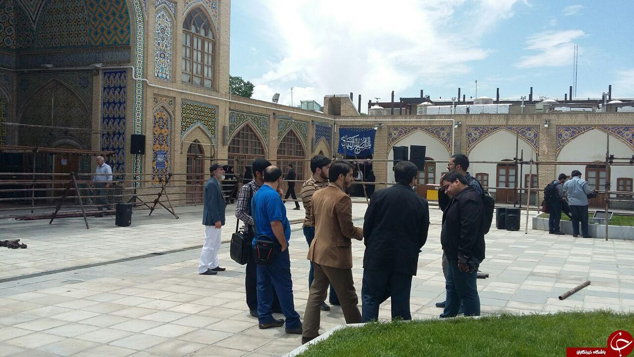 ساعاتی دیگر احمدی نژاد درجمع زنجانی ها