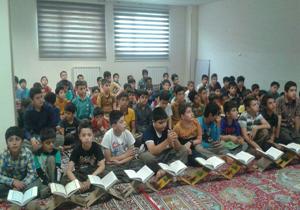 آموزش قرائت قرآن به کودکان در مساجد + تصاویر
