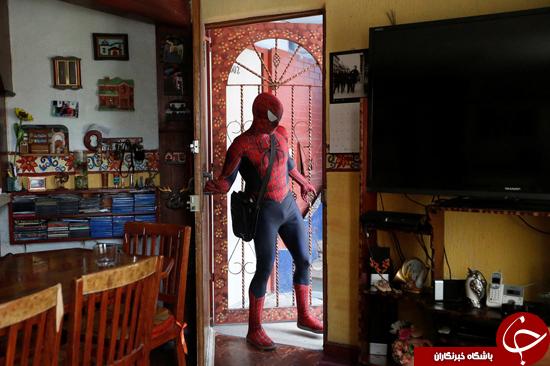 مرد عنکبوتی معلم میشود + تصاویر
