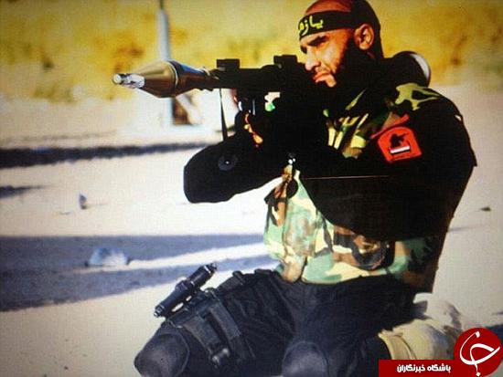 حضور ابوعزرائیل، کابوس داعش، در خط مقدم فلوجه +تصاویر