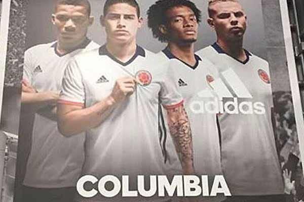 عذر خواهی آدیداس از کلمبیا به دلیل درج غلط نام این کشور