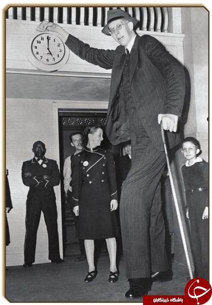 مرد سه متری؛ بلندقدترین انسان+تصاویر