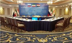 نشست 3جانبه وزرای دفاع ایران، روسیه و سوریه در تهران برگزار شد