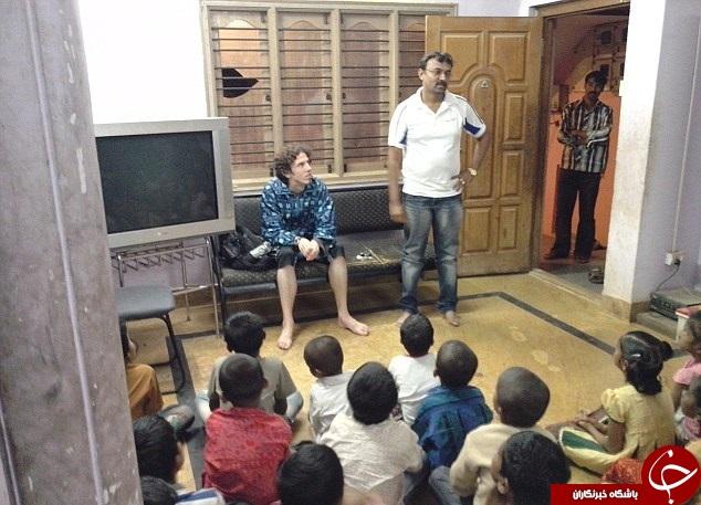 سفر به کشورهای مختلف برای تعرض به 200 کودک/تدریس زبان بهانه رسیدن به نیت شیطانی+تصاویر