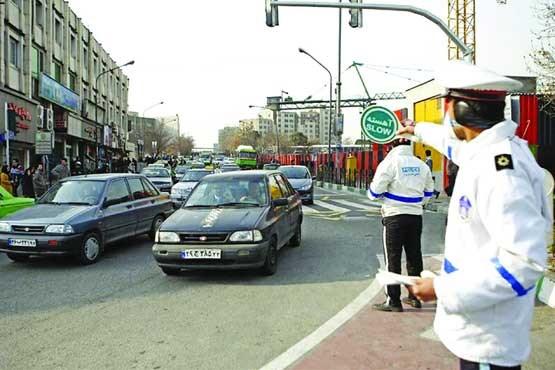 آزمون پلیس در مقابله با خودروهای فاقد معاینه فنی/جولان دو میلیون خودروی بدون معاینه فنی در تهران