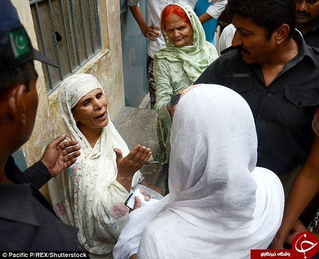 مادر پاکستانی دخترش را زندهزنده سوزاند + تصاویر