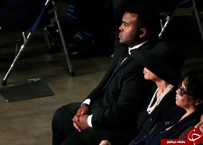 کلینتون محمد علی را ستایش کرد، راشده و مریم سخنرانی کردند