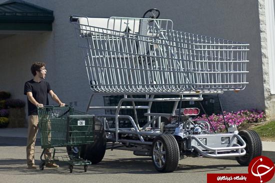 بزرگترین چرخ دستی فروشگاه جهان + عکس