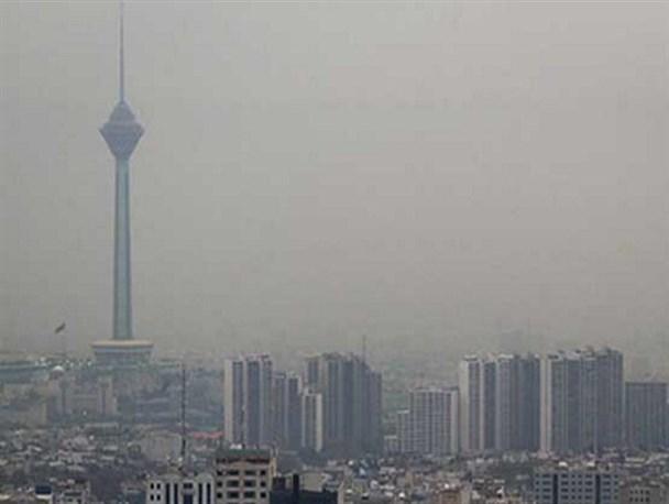 هوای تهران همچنان ناسالم برای گروههای حساس