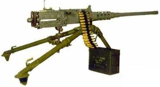 قصاب داعشی با مسلسل M2 در لیبی+ تصاویر