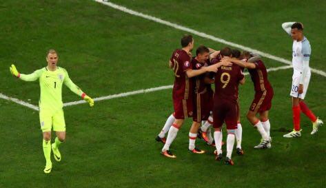 انگلیس 1 - روسیه 1 + تصاویر و فیلم