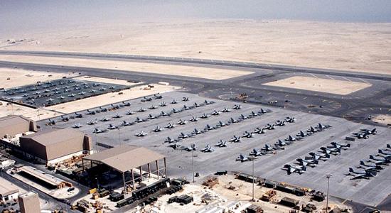 پایگاههای نظامی آمریکا در منطقه غرب آسیا + تصاویر