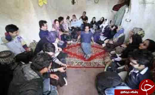 اسکان مختلط شبانه دانشجویان دانشگاه تهران در یک اتاق!+عکس