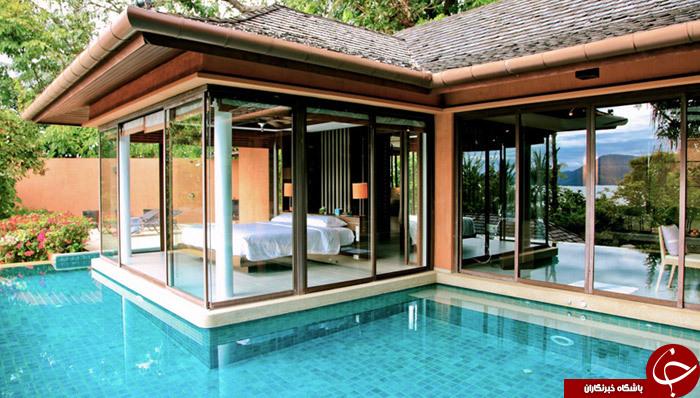 حیرت آورترین هتل های جهان/ هتل هایی که دراتاق خواب خود استخردارند+تصاویر