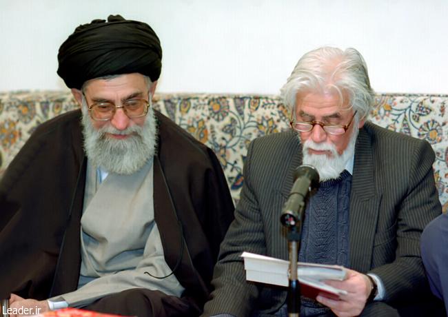 پیام تسلیت رهبر انقلاب در پی درگذشت شاعر نامدار حمید سبزواری