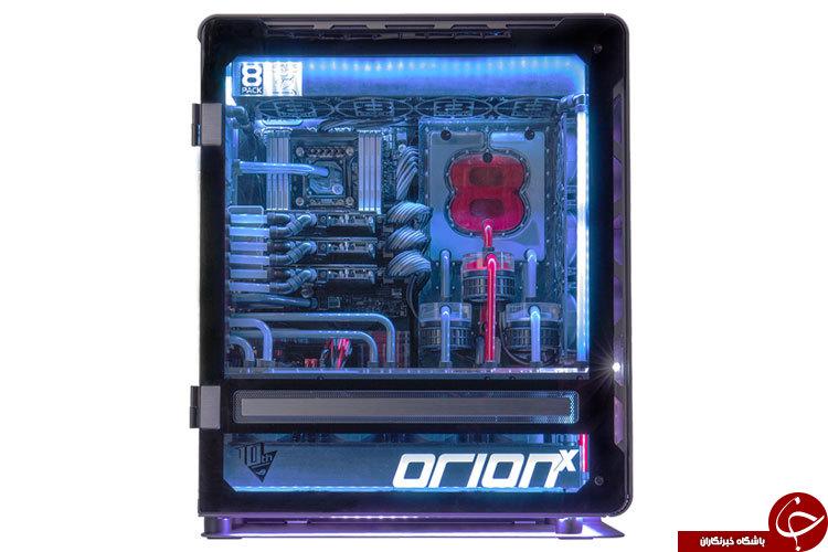 یکی از سریعترین رایانه های جهان+تصاویر