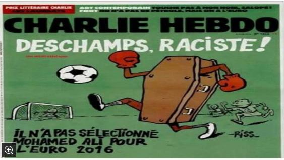 سریال جنجال آفرینی های شارلی ابدو/ مجله نژاد پرست فرانسوی، اینبار