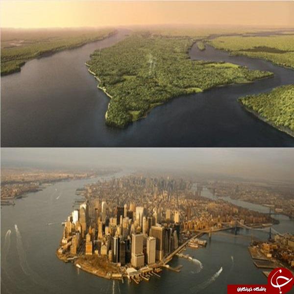 نیویورک قبل از کشف اینگونه بود +عکس