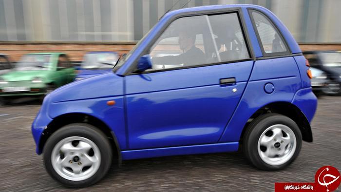 زشت ترین خودرو های جهان را بشناسید+تصاویر
