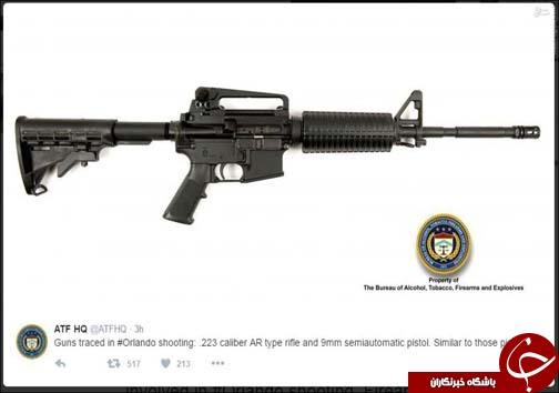 کدام سلاح ها در کشتار اورلاندو استفاده شد+عکس