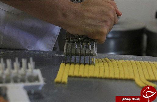 نحوه پخت زولبیا و بامیه+ عکس