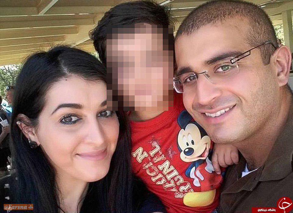 عمر متین در کنار همسر و فرزندش +عکس