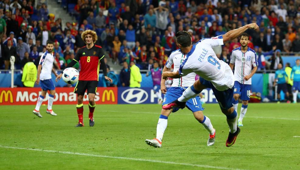 ایتالیا 2 - بلژیک صفر/ ایتالیا، ایتالیایی برد، بلژیک قهرمانانه باخت + گزارش تصویری