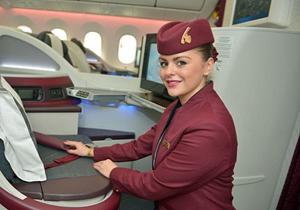اخراج ۲ زن از هواپیما به علت زل زدن به مهماندار