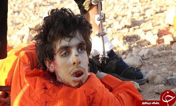 یک داعشی سر برادر خود را برید + فیلم و عکس