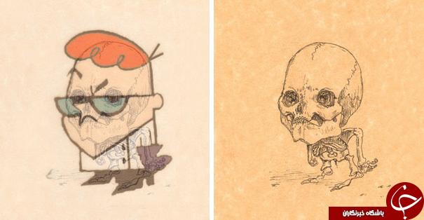 رازهای پنهان شخصیت های معروف کارتونی +تصاویر