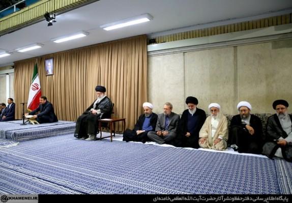 بیانات مقام معظم رهبری در دیدار کارگزاران نظام