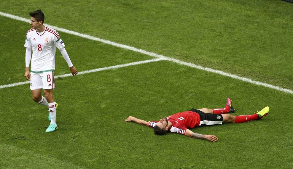 اتریش 0 - مجارستان 0