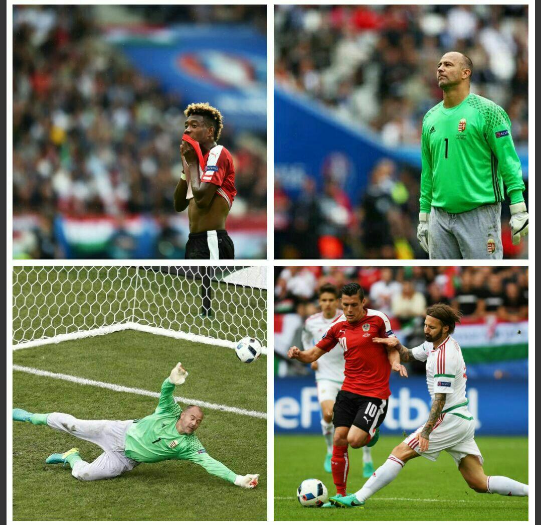 اتریش 0 - مجارستان 0 + تصاویر