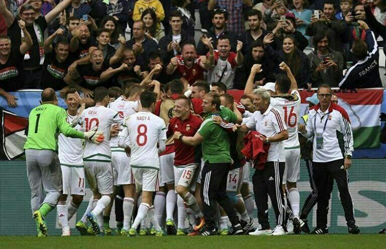 مجارستان 2 - اتریش 0 /نخستین شگفتی جام رقم خورد + تصاویر