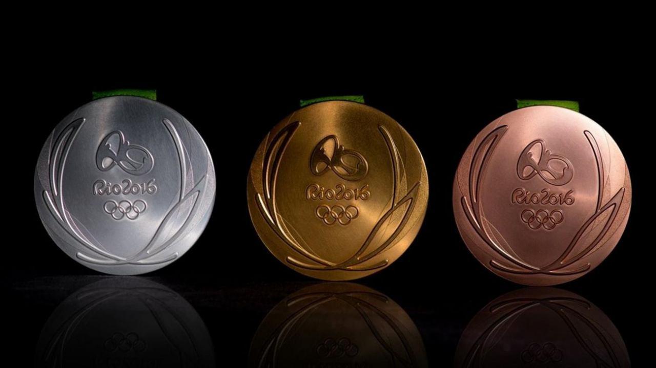 رتبه بندی مدال های المپیک 2016 ریو تا 24 مرداد